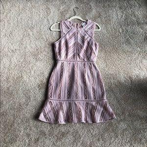 HD Paris Pink Lace Dress